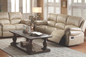 Acme ISADORA, Beige Bonded Leather.