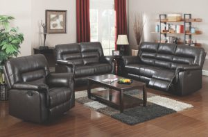 Acme NEON, Dark Brown Bonded Leather.