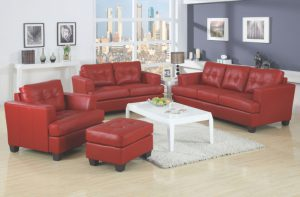 Acme PLATINUM, Red Bonded Leather.